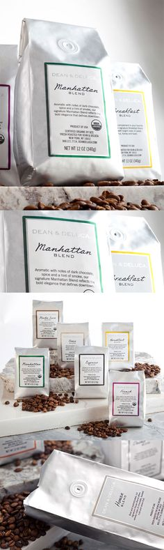 Dean and Deluca  --The Dieline--