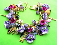 Leandra Holder Jewellery Blog: Day of The Dead Hand Carved Skulls Bracelet / Necklace