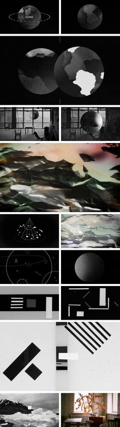 piramida-stills-samlet by Hvass & Hannibal New Media, Stars And Moon, Concerts, Composition, Lab, Collage, Shapes, Graphic Design, Tattoo