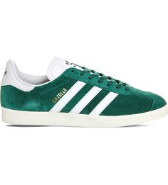 pretty nice faba5 84297 ADIDAS Gazelle leather trainers