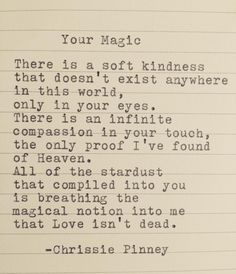 Your Magic by Chrissie Pinney