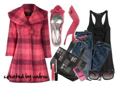 """Mad about Plaid!"" by vailrox ❤ liked on Polyvore featuring Dorothy Perkins, Camilla and Marc, Wet Seal, Kirra, Aéropostale and Sephora Collection"