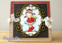Magnolia Tilda Christmas Card by Zoem - Cards and Paper Crafts at Splitcoaststampers
