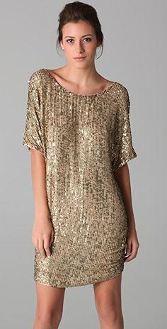 08a7c3f72b9b Vince Sequined Dress Gold Sequin Dress