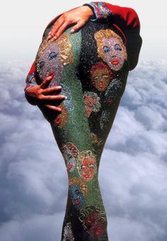 #versace #90s #ilovethe90s #harlotsf #harlot #marilynmonroe #fashion #leggings