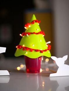 DIY - arvore de natal de mesa