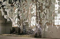 The River | Monika Grzymala (2012), handmade paper. http://www.t-r-a-n-s-i-t.net/index.html Monika Grzymala will be exhibiting at Fabrica in Brighton in 2014