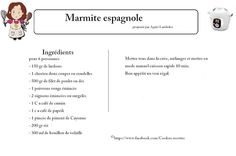 Marmite espagnole                                                                                                                                                                                 Plus