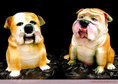 It's Freaky Food Friday! Our find this week is this show-stopping display of two bulldog... CAKES! I know what you're thinking and the answer is YES, these dawgs are 100% edible! Personally, these exact replicas of man's best friend seem way too authentic to be eaten, however, I am willing...