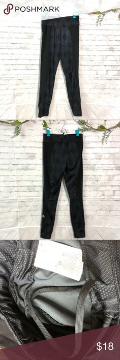 Adidas Small Black athletic track pants Great condition adidas Pants Track Pants & Joggers