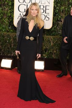 Kate Hudson has yet to meet a plunging neckline she doesn't like.   - Redbook.com