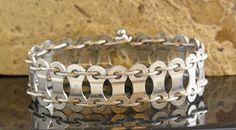 Twin Cable Bike Chain Bracelet