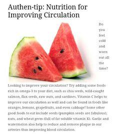 Improving circulation