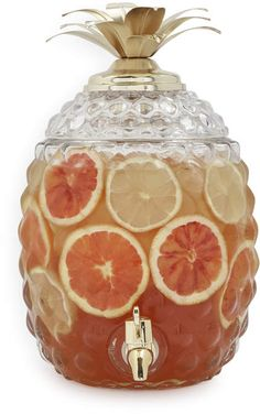 Sur La Table Pineapple Beverage Jar