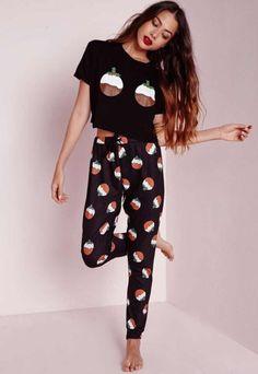 a93193e2f4 Cómo lucir las Pijamas para verte Guapa y Sexy Pyjama Noel