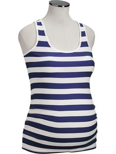 Old Navy Maternity Scoop Rib-Knit Tanks $13