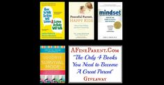 """AFineParent.Com """"The Only 4 Books You Need to Become A Great Parent"""" Giveaway"""