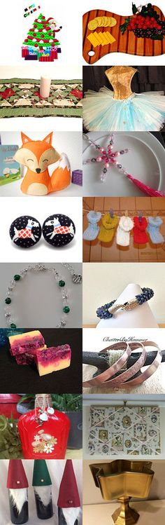 No rush Cristmas gifts!  by Olga on Etsy--Pinned+with+TreasuryPin.com