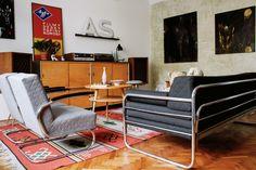 novoretro interiors www.novoretro.net Retro, Retro Modern Design, Retro Modern, Armchair, Modern Design, Room, Interior, Living Room, Home Decor