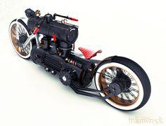 Cronicals of Drift Day: Steam powered bike...