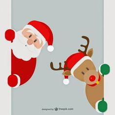 Custom Personalized photography backdrops merry christmas ornaments santa claus reindeer vectors new Merry Christmas Images, Merry Christmas And Happy New Year, Christmas Pictures, Christmas Art, Christmas Decorations, Christmas Ornaments, Santa Claus Is Coming To Town, 242, Theme Noel