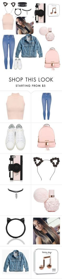 """""""Sin título #42"""" by martilais on Polyvore featuring moda, WearAll, River Island, Yves Saint Laurent, MICHAEL Michael Kors, Kate Spade, Lucky Brand y plus size clothing"""