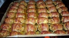 Appetizer Recipes, Appetizers, Bacon, Romanian Food, Meat Chickens, Pork Recipes, Cookie Recipes, Sausage, Food And Drink