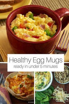 Friday Five: Healthy Breakfast Egg Mugs - Slender Kitchen