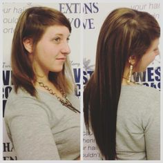 WEST COAST HAIR® Hair extension before and after! #hairextensions #beauty #hairstyles #hair