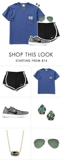 """""""Please join my taglist! 🌈"""" by simplysarahkate ❤ liked on Polyvore featuring NIKE, Howlin', Kendra Scott and Ray-Ban"""