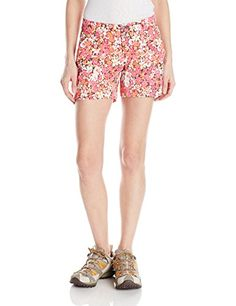 Camp Clothing - Columbia Sportswear Womens Saturday Trail Printed Shorts >>> You can find more details by visiting the image link.