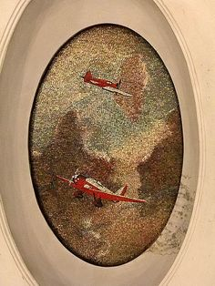 Soviet aviation in mosaics in one of Moscow's renown Metro stations