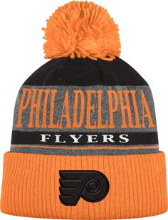 Show everyone you cheer for the Flyers with this Philadelphia Flyers Adidas  Mens Orange Heather Tonal Knit Hat! Rally House has a great selection of  new and ... a9fdfc06ae4a