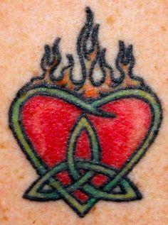 9cee5c170 24 Top Celtic Heart Tattoo Designs Images For Pinterest Tattoos Celtic  Shamrock, Shamrock Tattoos,