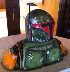 Super Punch: Another Boba Fett cake