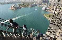 Sydney Harbor bridge climb, if you ever get the chance, do it! It's amazing :-)