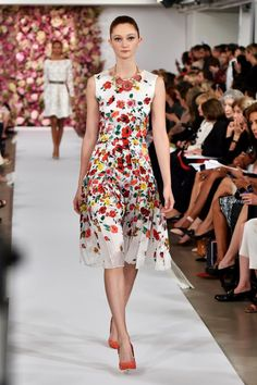 Hot off the runway--fashion trends for spring 2015: Spring Fashion Trend #2 - Floral Fashion