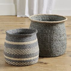 Who sells wicker baskets? Find wicker baskets, laundry hampers, storage baskets and more stylish storage options at Ballard Designs! Large Baskets, Wicker Baskets, Woven Baskets, Picnic Baskets, Basket Weaving, Hand Weaving, Pre Lit Christmas Tree, Bohemian Christmas, Christmas Ideas