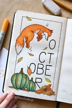Best Bullet Journal Monthly Cover Ideas for October - Crazy Laura - . - Best Bullet Journal Monthly Cover Ideas for October – Crazy Laura – Best Monthly Cover - Bullet Journal Cover Ideas, Bullet Journal Month, Bullet Journal Banner, Bullet Journal School, Bullet Journal Notebook, Bullet Journal Ideas Pages, Bullet Journal Layout, Journal Covers, Bullet Journal Inspiration