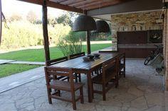 Mirá imágenes de diseños de Jardines estilo Moderno}: Casa quinta privada…