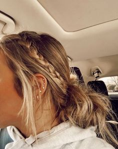 Sporty Hairstyles, Messy Hairstyles, Summer Hairstyles, Pretty Hairstyles, Volleyball Hairstyles, Wand Hairstyles, School Hairstyles, Hair Inspo, Hair Inspiration