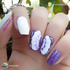 #nailstorming art by Akumette @akumette_ at #scra2chfloral series. #repost on FB/IG/Twitter/G+.