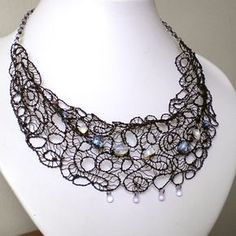 Black Wire Lace by ~blackcurrantjewelry on deviantART