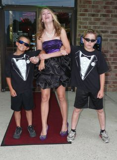 Red carpet idea for 13th  bday party omg this is my 13 bday pic with the boys