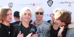 Video: R5 Talked With Shine On Media At T.J. Martell Foundation's Family Day Los Angeles November 16, 2014