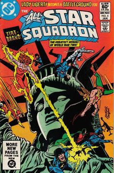Cover for All-Star Squadron (DC, 1981 series) #5