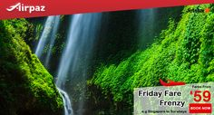 Friday Fare Frenzy ! Enjoy the best promotional fare for Jetstar flights on Airpaz ! Book your flight today ! More info : http://ow.ly/2wGH301lFVc  #CheapFlights #Promotion #Jetstar #FridayFareFrenzy #Airpaz #Travel #Singapore #Backpacker #Backpacking #Holiday #Traveling #Vacation #Trip #Flights