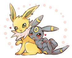 #Umbreon #Jolteon