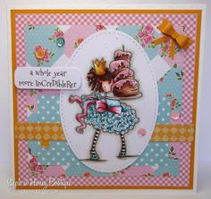 Honey Bootique: Stamping Bella Tiny Townies Bree Loves Buttercream