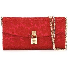 Dolce & Gabbana Dolce Clutch (1,655 CAD) ❤ liked on Polyvore featuring bags, handbags, clutches, red, dolce gabbana handbag, beaded clutches, beaded handbag, floral print purse and flower print purse